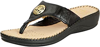Dr.Scholls Women's Leather Wedge Slippers