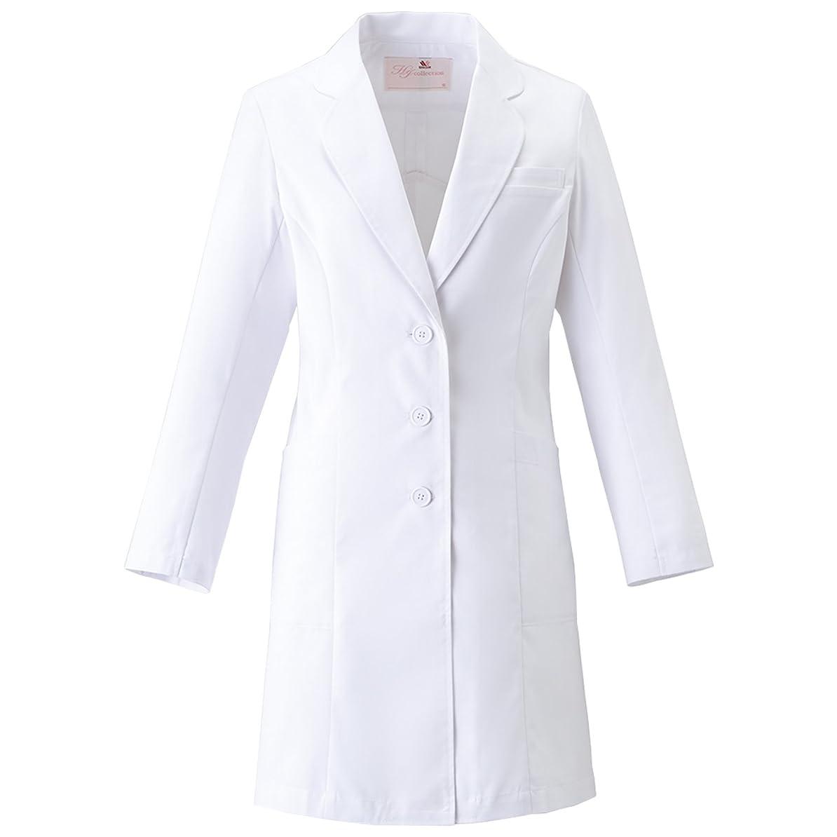 賛辞不名誉蒸発する(FOLK) フォーク ワコール レディスコート 女性用 診察衣 白衣 (HI401) 【S~3Lサイズ展開】