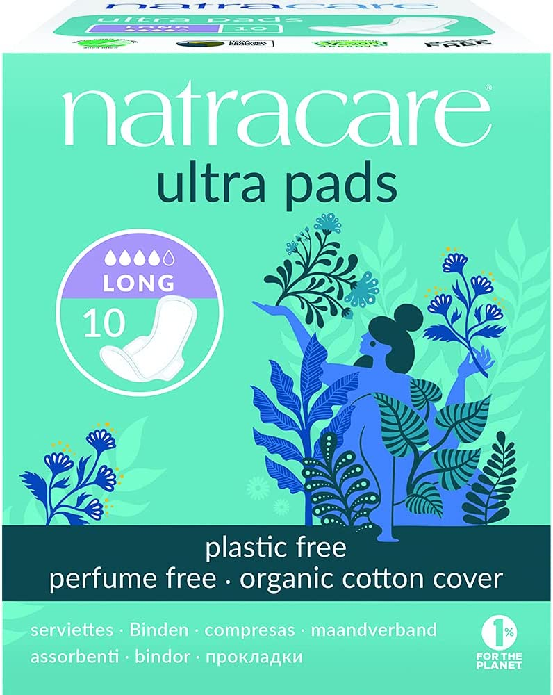 2021 autumn and winter All items in the store new Natracare 3104 Ultra Long Pads 6 Pack Count 10