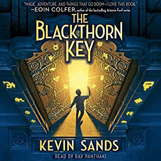 Blackthorn Key audiobook cover art