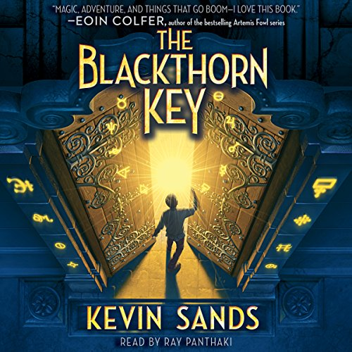 Blackthorn Key audiobook cover art