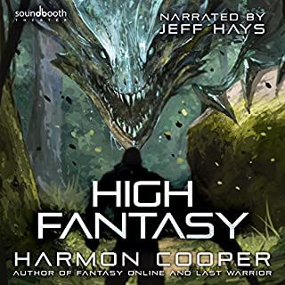 High Fantasy audiobook cover art