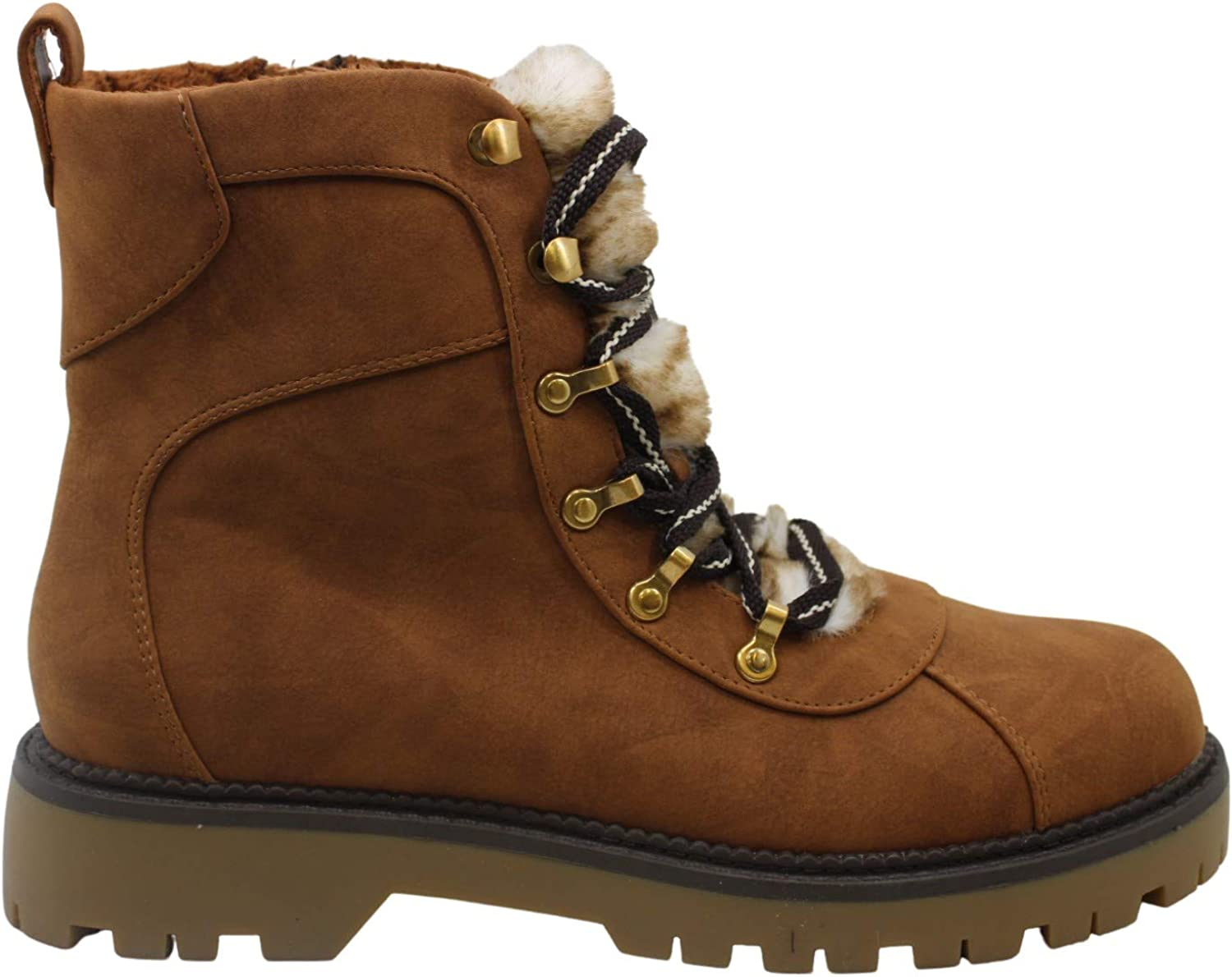Style & Co. Womens Morggan Round Toe Ankle Combat Boots
