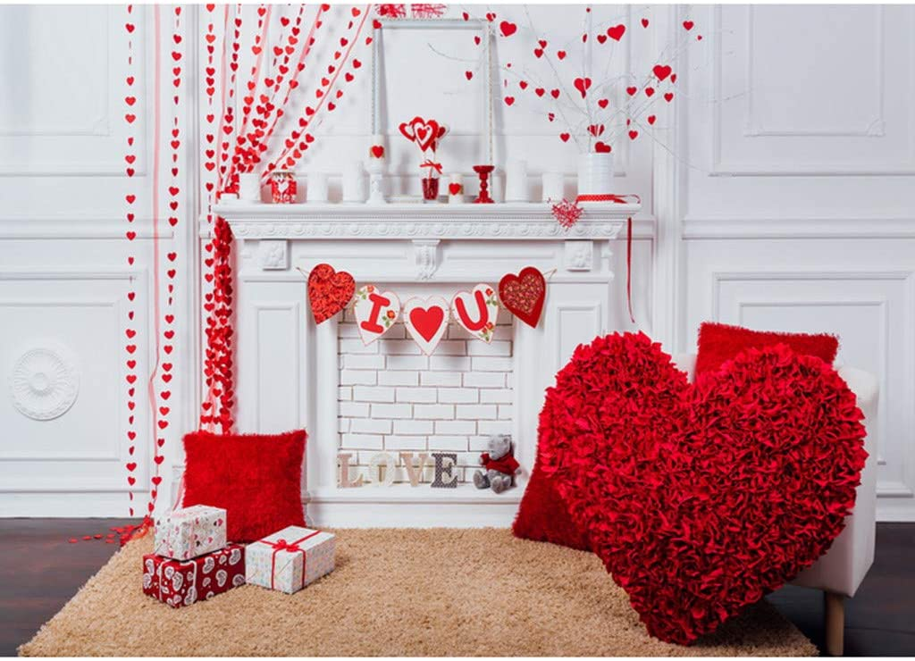 Valentines Day Cloth Personality Photo Party Layout Props Photo Photo Photo Backgrounds backdrops for Photoshoot Photo Studio Folding Opaque Back Screen for Photography Polyester 125 X 80cm