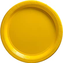 Amscan 640013 09 Yellow Sunshine Plates