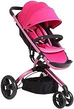 YYLVM Baby Jogger City Cochecito, cochecitos de niño de Tres Ruedas de Peso Ligero del Cochecito, diseño de Cinco Puntos Cinturón de Seguridad del Cochecito de bebé Sillas de Paseo