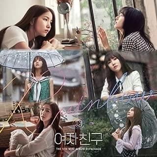 Gfriend-[Rainbow]5th Mini Repackage Album CD+Photobook+PhotoCard+Postcard K-POP SEALED