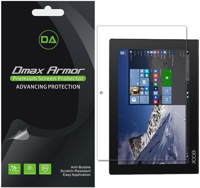 [3-Pack] Dmax Armor for Lenovo Yoga Book 10.1 Anti-Glare & Anti-Fingerprint Screen Protector - Lifetime Replacement