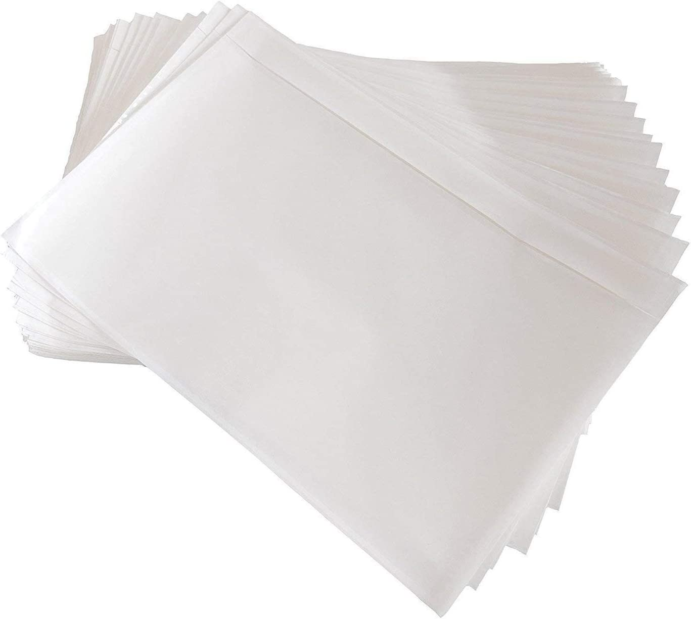 BESTEASY Packing List Tucson Mall Pouches Clear Loading Top Adhesive Packin Very popular