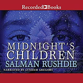 Midnight's Children                   Written by:                                                                                                                                 Salman Rushdie                               Narrated by:                                                                                                                                 Lyndam Gregory                      Length: 24 hrs and 29 mins     15 ratings     Overall 3.8