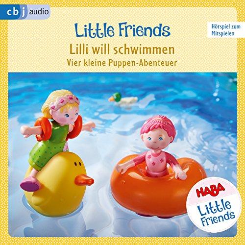 Lilli will schwimmen - Vier kleine Puppen-Abenteuer zum Hören und Mitspielen Titelbild