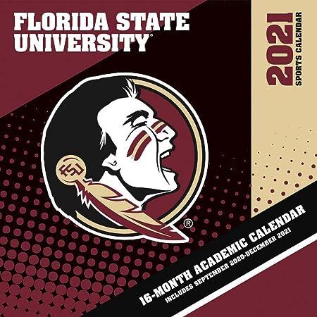 Fsu Academic Calendar 2022.Amazon Com Turner Sports Florida State Seminoles 2021 Box Calendar 21998051374 Office Products