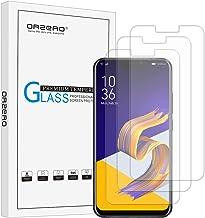 (3 Pack) Orzero Compatible for Asus Zenfone 5 ZE620KL, Asus Zenfone 5z ZS620KL Tempered Glass Screen Protector, 2.5D Arc E...