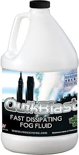 Froggys Fog 1 Gal - QuikBlast - Best Fluid for Chauvet Geysers - CO2 Blast Effect Fog Machine Fluid