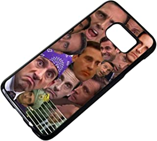 The Best Of Michael Scott Collage Samsung Galaxy S7 Case Black Rubber QI