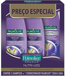 Shampoo E Condicionador Palmolive Naturals Nutri-Liss 350Ml Promo Leve 2 Shampoos + 1 Condicionador