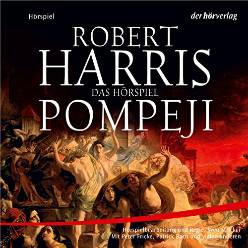 Pompeji audiobook cover art
