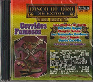 Disco De Oro : 36 Exitos Corridos Famosos