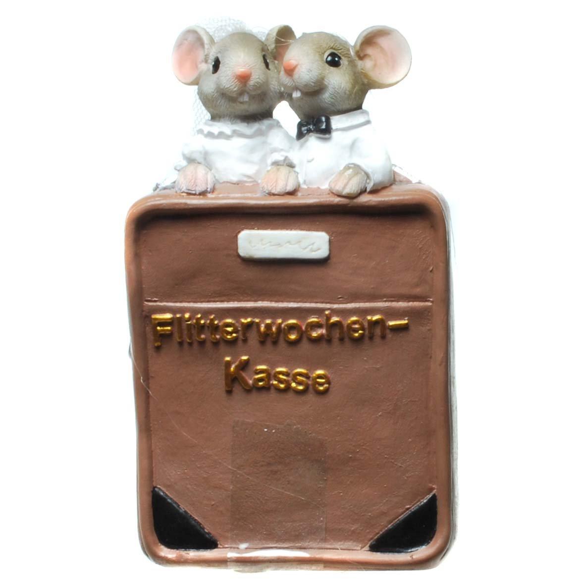 Hucha Honeymoon de caja registradora con Novios Ratones, pack de 1 unidad: Amazon.es: Electrónica