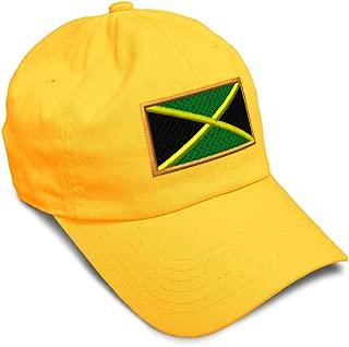 Custom Soft Baseball Cap Jamaica Embroidery Dad Hats for Men & Women