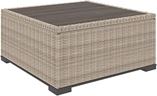 patio furniture aluminum wood look