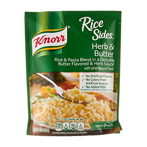 Knorr Rice Side Dish, Herb & Butter, 5.4 oz