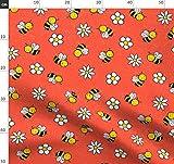 Albern, Klein, Natur, Tiere, Bienen Stoffe - Individuell