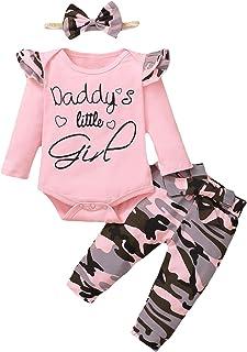 DAY8 Vetement bébé Fille ete Ensemble Bebe Garcon Naissance Printemps Chemise Blouse t Shirt Pyjama Fille Manche Longue Ha...