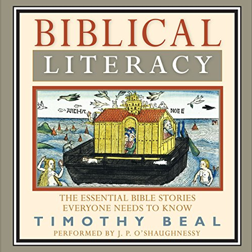 Biblical Literacy audiobook cover art