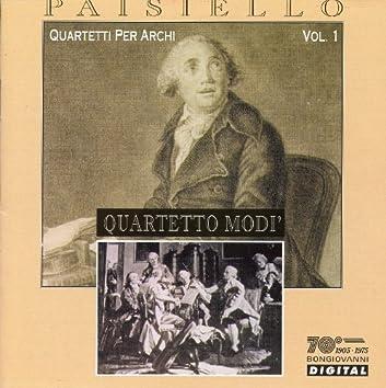 Paisiello: Quartetti Per Archi, Vol. 1 (Quartetto Modi)