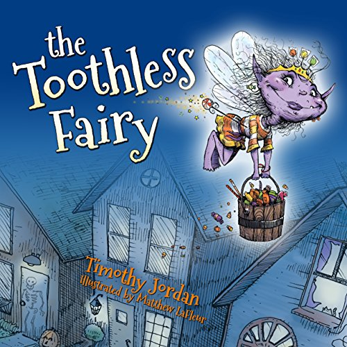 The Toothless Fairy audiobook cover art