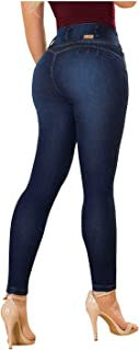 Laty Rose 2016 Jeans Colombianos Levanta Cola Blue Denim Butt Lifter Jeans Dark Blue 13