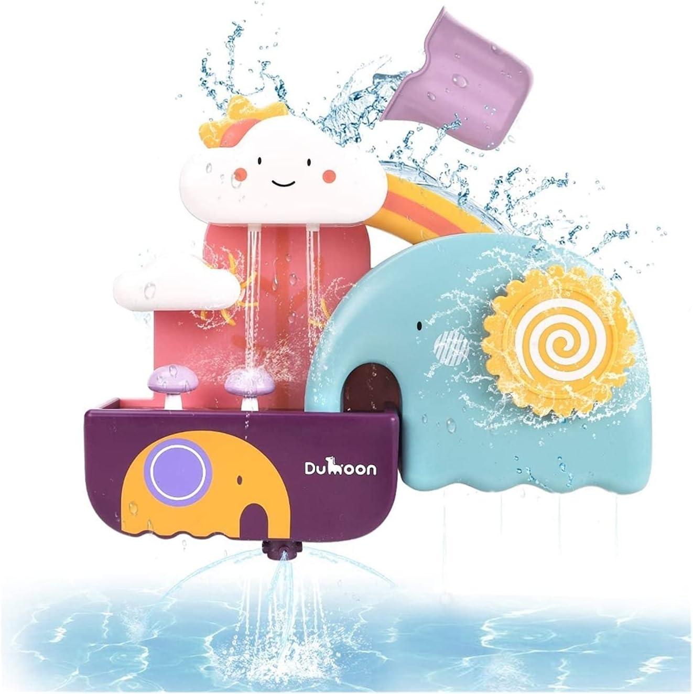 HEMOTONE Sacramento Mall Baby Bath Toys for Kids Game Discount is also underway Bird Shower Elephant Water