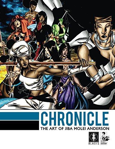 Chronicle: The Art of Jiba Molei Anderson (English Edition)
