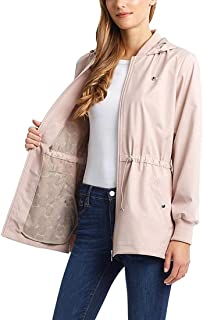 Bernardo Ladies Jacket with Back Ruffle Hem (S, Lt Pink)