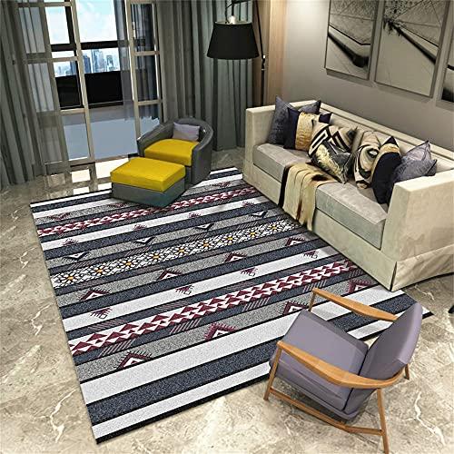 alfombras Baratas Salon Alfombra Gris, cojín para Silla de Oficina, Alfombra Moderna...