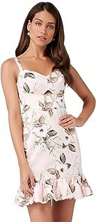 Ever New Womens Pippa Frill Mini Dress