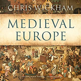 Medieval Europe                   De :                                                                                                                                 Chris Wickham                               Lu par :                                                                                                                                 Derek Perkins                      Durée : 14 h et 19 min     1 notation     Global 5,0