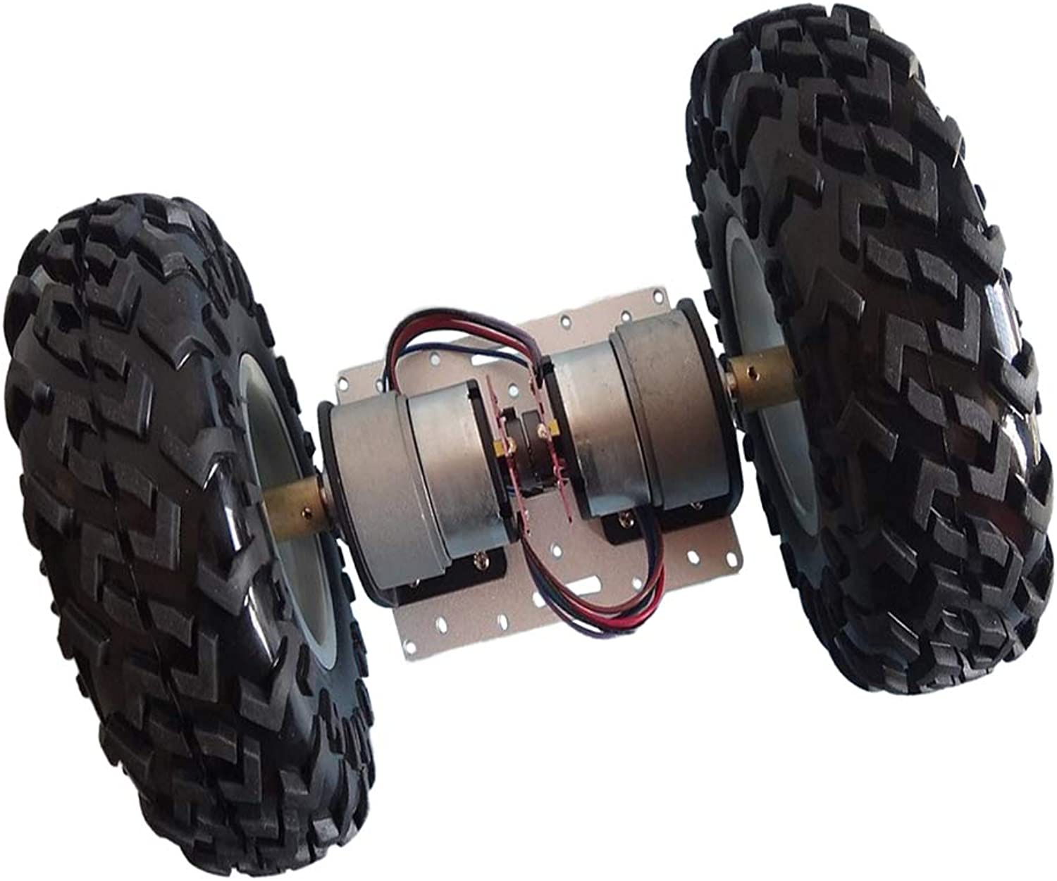 Baosity Smart Robot Car Chassis Kit with Motors, Encoder for Arduino DIY Learner(2WD)
