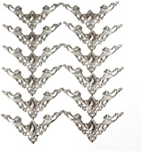 12 stuks Antieke hoeken Klassieke en chique decoratie Versier sieraden Beschermingsdozen Wijnkist Boek Scrapbook Albumhoek