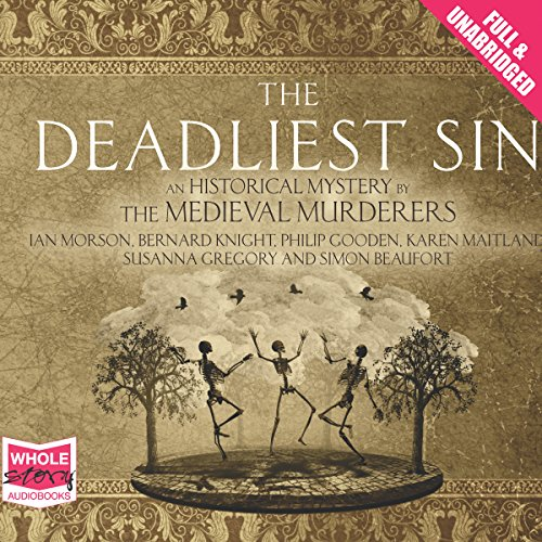 The Deadliest Sin audiobook cover art