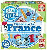 Educa Defi Quiz. Découvre La France. Jeu de societé Famille. Questions et reponses. +7 años. Ref. 18155, varié