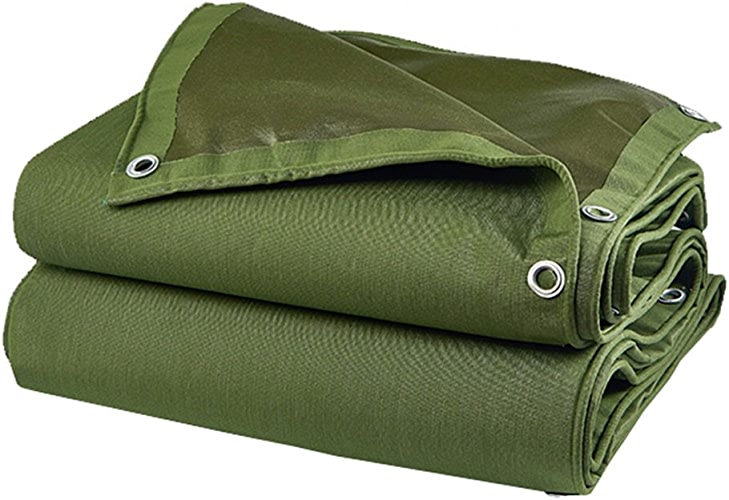 LI MING SHOP-Tents tentes extérieur Bache imperméable Crème Solaire Tente Vert épais Poncho Bache de Voiture Housse de Pluie Différentes Dimensions + + 3mx3m