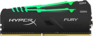 HyperX Fury 32GB 3200MHz DDR4 CL16 DIMM (Kit of 2)  RGB XMP Desktop Memory HX432C16FB3AK2/32