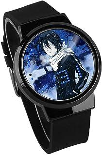 a5f8c47b9 Relojes Ye Liang God Impermeable Anime Táctil Alrededor Regalo Luminoso Led  Personalidad Creativa Reloj Educativo para