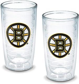 "Tervis ""NHL Boston Bruins"" Tumbler, Emblem, 16 oz, Clear"