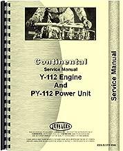 y112 continental engine parts