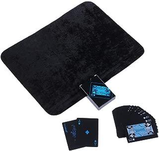 ブラック トランプ 黒い マジックカード 大富豪 手品 ポーカー 卓上 遊戯 (クロースアップ マットセット)