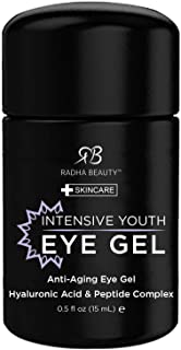Radha Beauty Intensive Youth Eye Gel 15 ml, Pack of 1