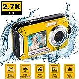 Waterproof Digital Camera Full HD 2.7K 48 MP Underwater Camera Video Recorder Selfie